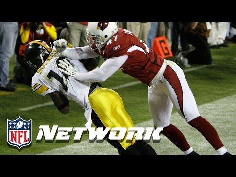 #7 Santonio Holmes in Super Bowl XLIII | NFL NOW | Top 10 Super Bowl Performances