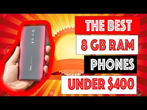 Best 8 GB RAM Smartphones Under $400 (Top 5) - Best Cell Phone Price/Quality