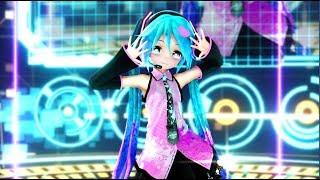 【MMD 1440p 2k】Satisfaction   (Electric Love Appearance Miku)