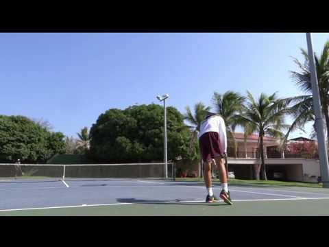 Matias McDonald - Tennis and music scholarship video