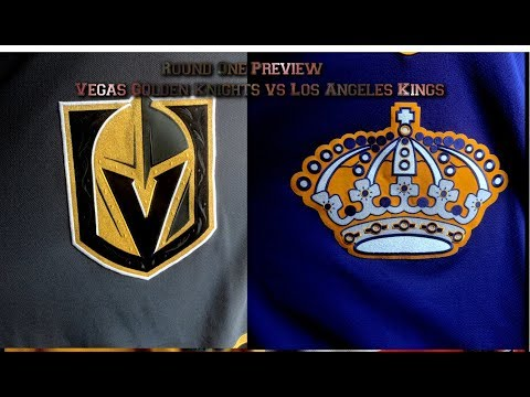 NHL Playoff Preview of Golden Knights vs Kings