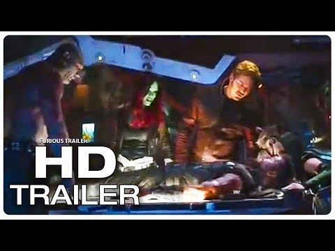 AVENGERS INFINITY WAR Movie Clip Thor Meets The Guardians + Trailer (2018) Marvel Superhero Movie HD