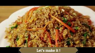 Chinese fried rice ! - Chinese fried rice recipe, simple home cooking