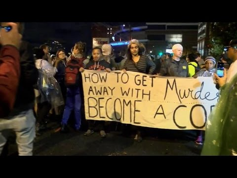 Protests erupt after N.C. cop not charged in deadly shooting