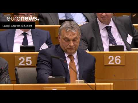 Verhofstadt rant against Hungarian PM Orban