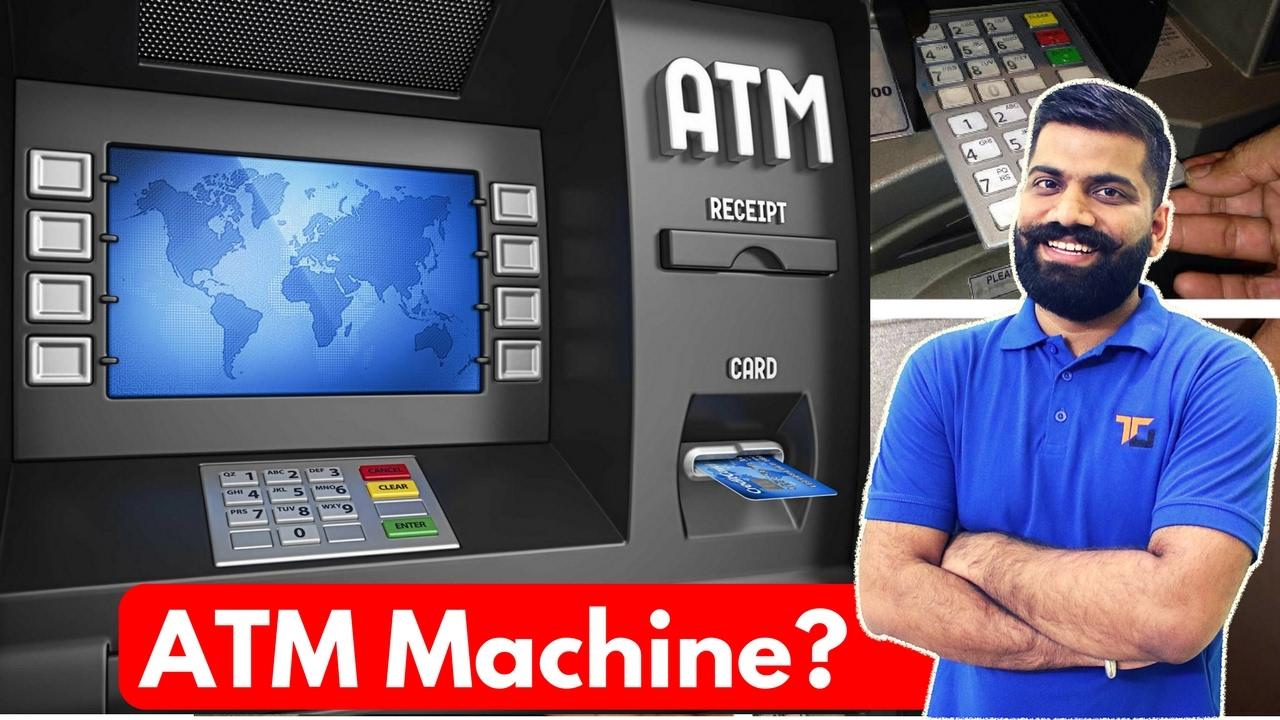 how atm machine work