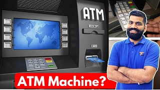 ATM Card Skimmers!!! How ATM Machines Work?