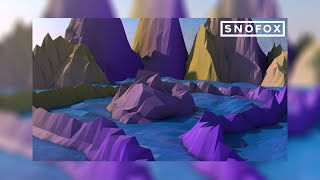 LOW POLY OCEANSCAPE BACKGROUND [SPEED ART #2]