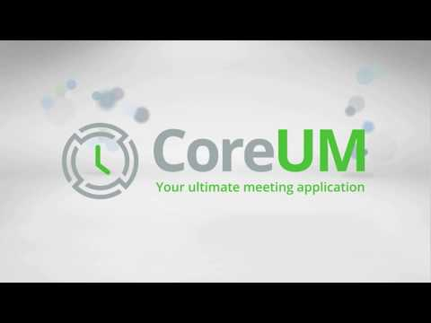 CoreUM - Your Ultimate Meeting Application