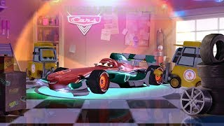 Neon Francesco Bernoulli VS Lightning Mcqueen DISNEY PIXAR CARS - Games for Kids