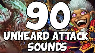 90 Attack Sounds You Don't Usually Hear [Hearthstone]