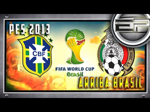 {17} - PES 2013 _ Copa 2014 ( Arriba Brasil )