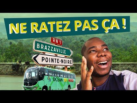 WOOOW  😱 MAGNIFIQUE VOYAGE EN BUS !!!! 🚌 BRAZZAVILLE - POINTE-NOIRE