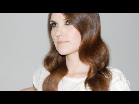 Peinado Glamuroso Romántico - Peekaboo -