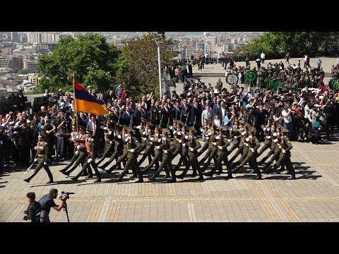 В Парке Победы в Ереване состоялся торжественный парада ко Дню Победы