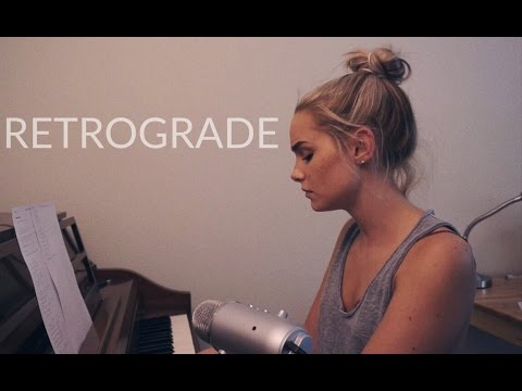 Retrograde - James Blake (Cover) by Alice Kristiansen