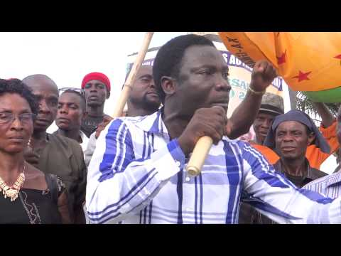 """The Ogoni People Demand Justice""- Ken Henshaw"