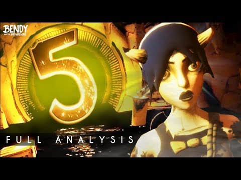 Bendy Chapter 5 Production Trailer Analysis (Bendy & the Ink Machine)