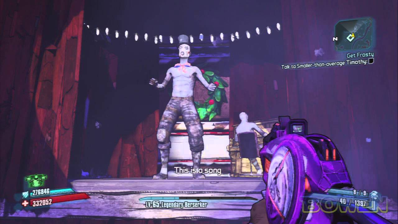 Singing Psycho -- Borderlands 2 New DLC -- How Marcus ... Borderlands 2 Max Backpack