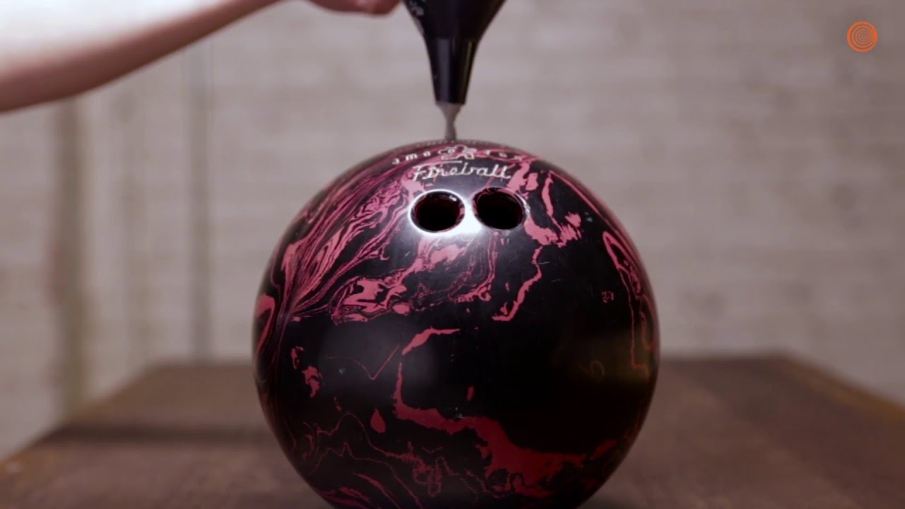 So Long Old Friend Bowling Ball Gets Its Holes Filled With Cement