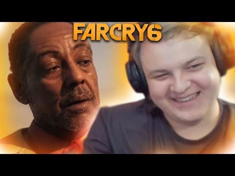 РЕАКЦИЯ ПЯТЁРКИ НА ТРЕЙЛЕР Far Cry 6 / нарезка фуга тв