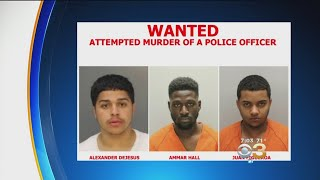 1 Suspect In Camden Police Shooting Arrested, 2 Suspects Remain At Large
