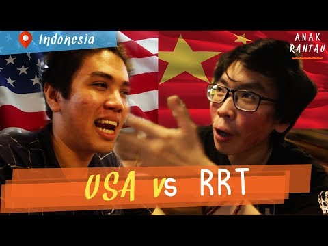 BATTLE HIDUP MURAH DI USA VS CHINA (dan Belanda)