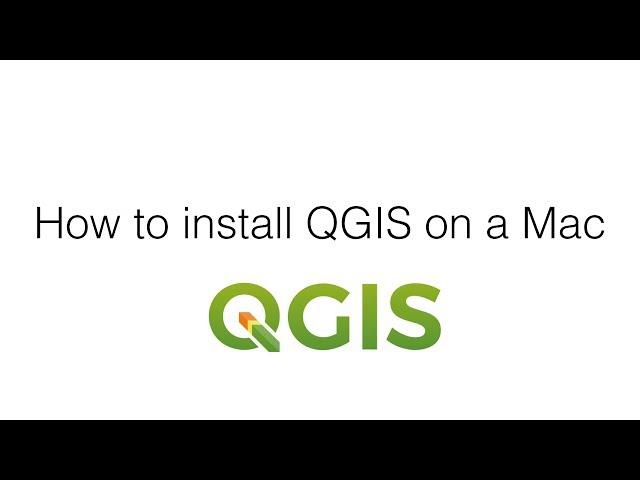 Installing QGIS on the Mac ~ GIS Lounge