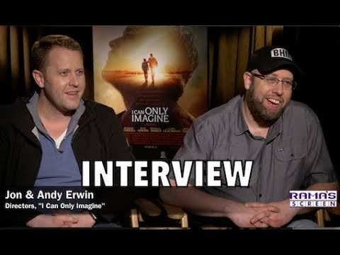 My Interview with Directors Jon & Andy Erwin About Inspirational Film, 'I CAN ONLY IMAGINE'