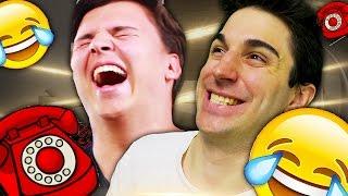 prank call challenge scherzi telefonici a negozi e youtubers