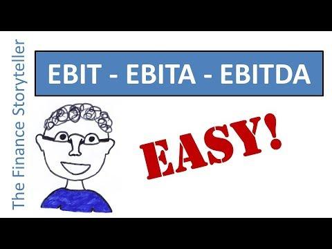 EBITA vs EBIT and EBITDA