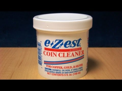 Review of e.Z.est Coin Cleaner for Silver Bullion