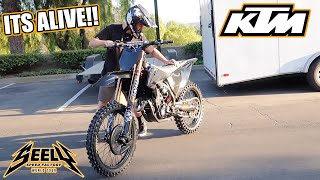 First Ride!! KTM 450 Build is complete