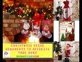 Christmass Decor Ornaments to Decorate Your Home