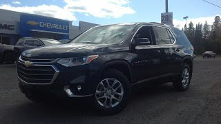 2018 Chevrolet Traverse LT Cloth AWD: Start Up, Drive Test & Full Review