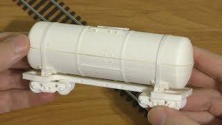 Вагон цистерна на 3D принтере