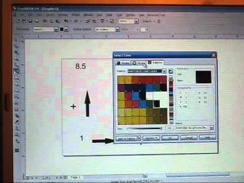 How To Setup Cutcontour Corel Draw For Print Amp Cut