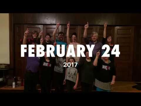 1Billion Rising Event in Owen Sound, Ontario Canada  2017