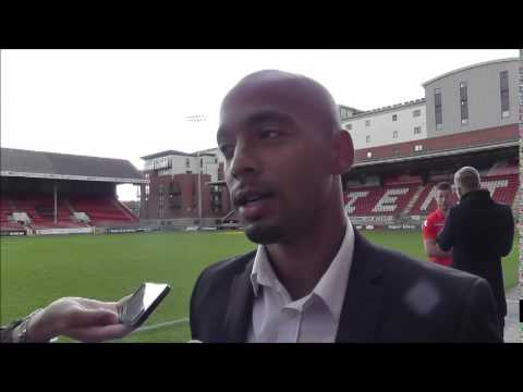 Elliot Omozusi post Orient v Walsall interview