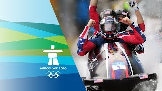 USA Win 4-Man Bobsleigh Gold - Vancouver 2010 Winter Olympics