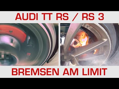 Audi TT RS/ RS3 Bremsen am Limit (11x 0-200-0)