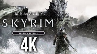SKYRIM SPECIAL EDITION 4K PC Gameplay 60fps