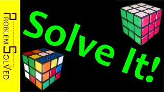 How to Solve a 3x3x3 Rubik's Cube (Easy and Fast!)
