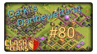 Darki's Dorfbewertung #80 || CLASH OF CLANS | CoC | Deutsch
