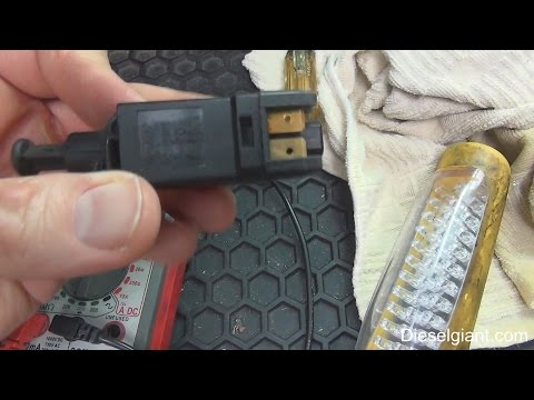 How To Replace A Brake Light Switch On Vw Jetta Tdi A3 Body Car