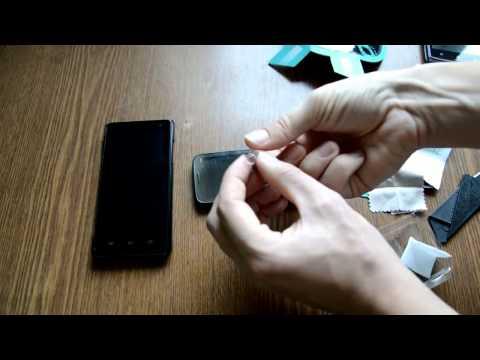 Как снять жидкое стекло с телефона