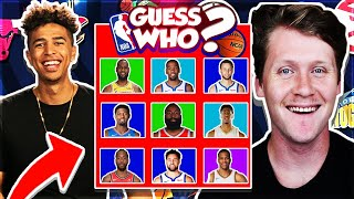 Guess That NBA Player vs. Jiedel - INSANE Guess Who #1