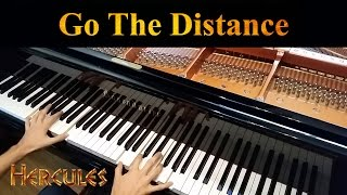 Disney's Hercules, Go the Distance, Alan Menken (Advanced Piano Solo)