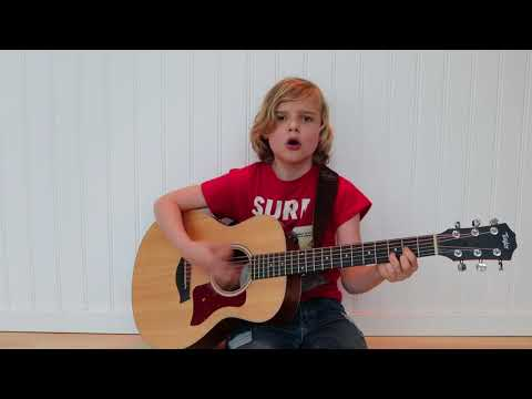 Wake Me Up (Avicii cover) - by mrcoolo aged 10