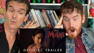 Disney's Mulan | Official Trailer REACTION!!
